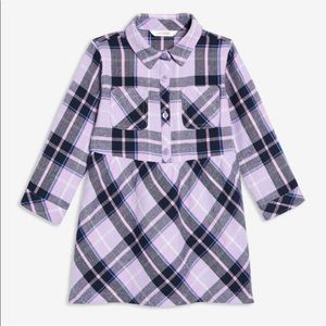 Joe Fresh Baby Girls' Plaid Shirt Dress